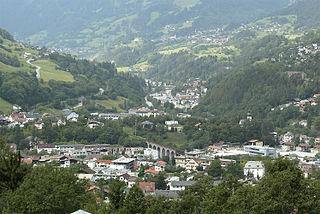 Landeck Place in Tyrol, Austria