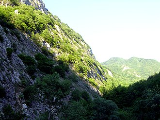 Orography of Azerbaijan - Image: Landscape, Quba Rayon, Azerbaijan, summer 2007