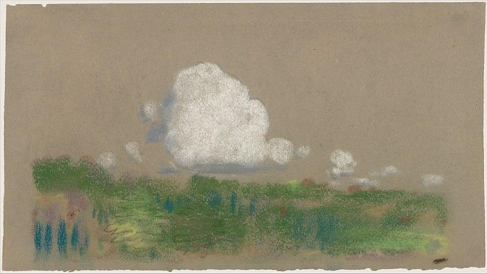 Landscape with Clouds MET DP158119