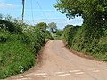 Lane at Bowls cross - geograph.org.uk - 1281826.jpg