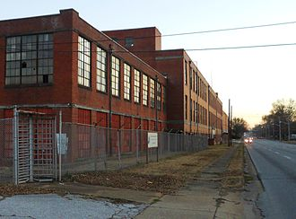 Lanett, Alabama - The abandoned Johnson Industries Fiber Products Division Lantuck Plant