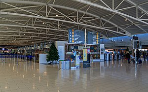 Larnaca International Airport - Check-in area