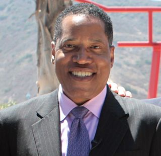 Larry Elder radio and television personality, political commentator