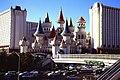 Las Vegas Excalibur NE W Tropicana Av PICT0095 19941101.jpg