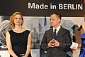 Laura Linney and Michael Grandage at the Berlinale party (24944340462).jpg