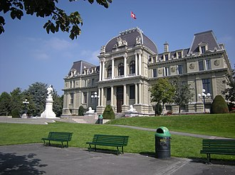Montbenon - Image: Lausanne Ancien Tribunal Federal(1)
