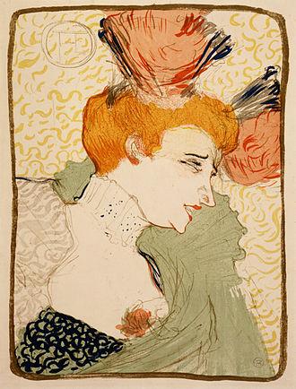 Marcelle Lender - Image: Lautrec mademoiselle marcelle lender (profile) 1895