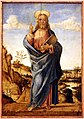Lazzaro bastiani (attr.), redentore benedicente, 1490-1510 ca.jpg