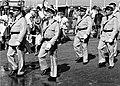 Le Gendarme et les Extra-terrestres — Tournage défilé 2.jpg