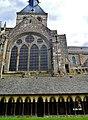 Le Mont-Saint-Michel Abbaye de Mont-Saint-Michel Abbatiale & Cloître 3.jpg