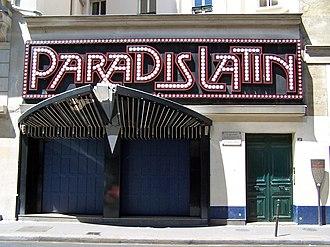 Paradis Latin - Image: Le Paradis Latin