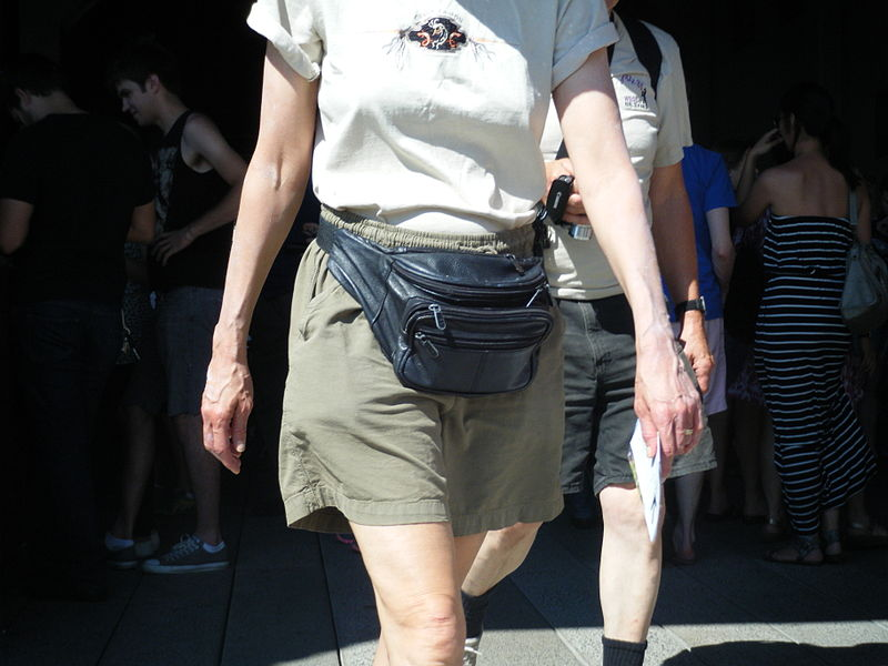 File:Leather Fanny Pack.JPG
