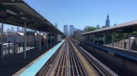 File:Leaving Chicago downtown by CTA green line train 4K.webm