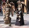 Lebende statue Barcelona1.jpg