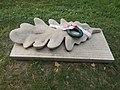 Lech Kaczyński memorial by Dávid Tóth, 2017 Győr.jpg