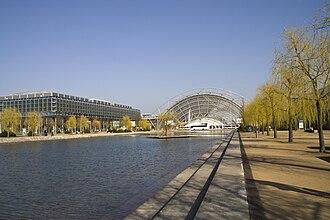 Leipzig Trade Fair - New Trade Fair building