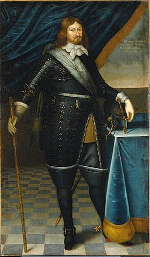 Lennart Torstensson - Lennart Torstenson painted 1648 by unknown artist.