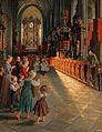Leo Reiffenstein Inneres der Kirche zu Mondsee 1895.jpg