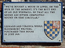 Leonard and virginia woolf   roundhouse lewes