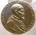Leone leoni, medaglia di michelangelo buonarroti, 1551 ca..JPG