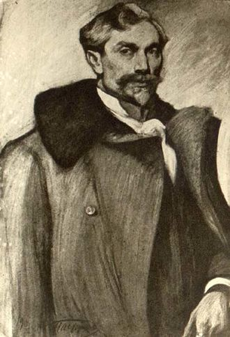 Leonid Pasternak - Self-portrait (before 1916)