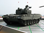 Leopard 2A4 Singapore Airshow 2008