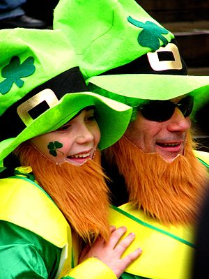 Taken at the St Patrick's Day celebrations at ...