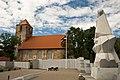 Lestene church and Lestene Warrior cemetery - panoramio.jpg