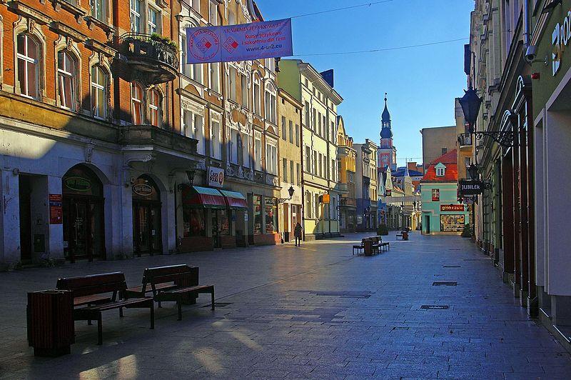 File:Leszno,ulica Słowiańska.jpg