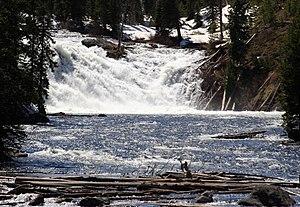 Lewis Falls - Image: Lewis Falls YNP