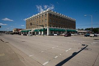 Morton County, North Dakota - Historic Lewis and Clark Hotel in Mandan