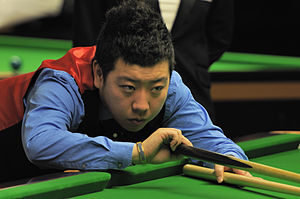 Li Hang (snooker player) - Li Hang at 2014 German Masters