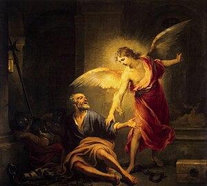 Liberation of Saint Peter - Bartolomé Esteban Murillo, Liberation of St. Peter