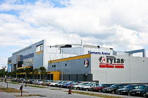 BC Lietuvos rytas - Lietuvos rytas and Siemens arenas, opened 2004