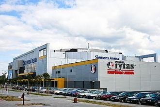 BC Rytas - Lietuvos rytas and Siemens arenas, opened 2004