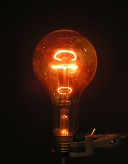 Wikijunior:How Things Work/Light Bulb - Wikibooks, open books for ...:Incandescent light bulb[edit],Lighting