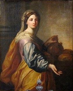 Szent Zita (Arnould de Vuez festménye 1712-ből)