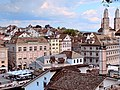Limmat View from Lindenhof hill, Zurich (Ank Kumar) 03.jpg