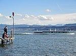 Limmatschift 'Regula' der Zürichsee-Schifffahrtsgesellschaft (ZSG) am Zürichhorn 2013-04-13 16-08-43 (P7700).JPG