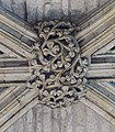 Lincoln Cathedral, Angel Choir N aisle, 2nd Roof Boss from E (39580391032).jpg