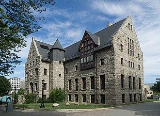 Charles W. Lippitt - URI's Lippitt Hall was named after Governor Lippitt.