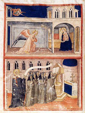 Lippo d'Andrea - Brigettine Gradual,1435