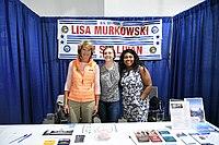 Lisa Murkowski visits 2019 Alaska State Fair 04.jpg