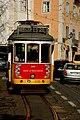 Lisboa, Rua do Limoeiro, bonde.jpg