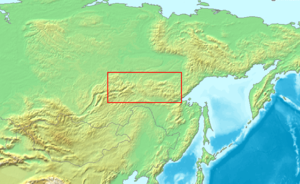 Stanovoy Range - The Stanovoys are the eastern part of the high country running from Lake Baikal to the Pacific