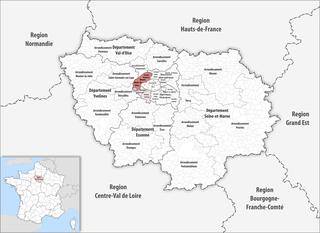 Arrondissement of Nanterre Arrondissement in Île-de-France, France