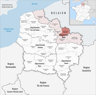 Arrondissement of Valenciennes Arrondissement in Hauts-de-France, France
