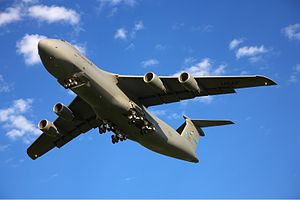 English: Lockheed C-5M Super Galaxy (L-500) ar...