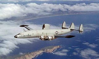 Lockheed EC-121 Warning Star Airborne early warning and control aircraft based on the Constellation airframe