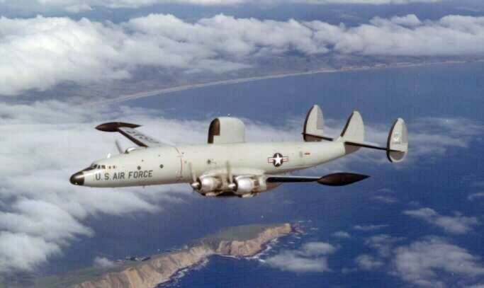 Lockheed EC-121D Thailand 1972
